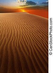 Pouštní písečné duny v maspalomas grania