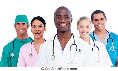 Pozitivní lékařský tým