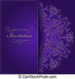 Pozvánka Violet