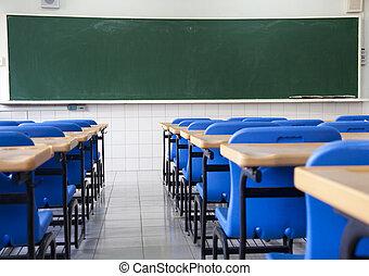 Prázdná škola