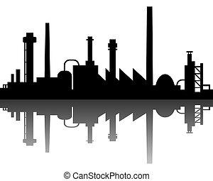 Průmyslové pozadí
