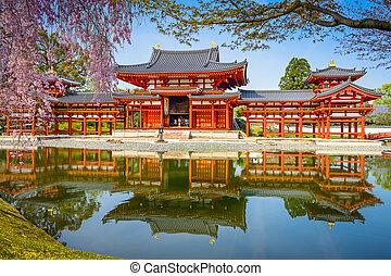 pramen, chrám, byodoin