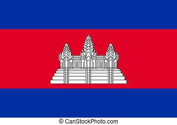 prapor, kambodža