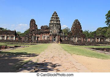 prasat, thajsko, phimai