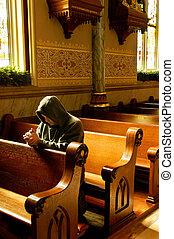 prosba, církev