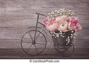pryskyřník, květiny