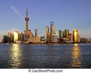 Pudong, shanghai, brada