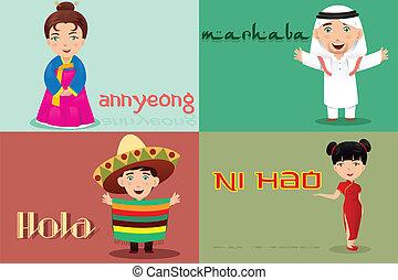 rčení, neobvyklý, haló, kultura, národ