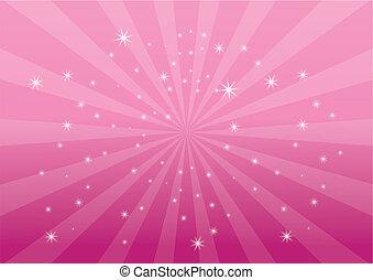 Růžová barevná skvrna