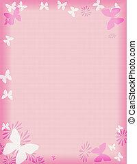 Růžová motýlí hranice