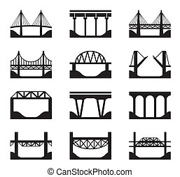 Různé druhy mostů
