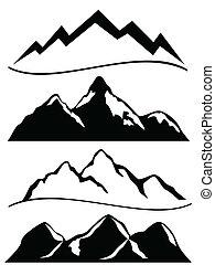Různé hory