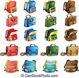 Různé tašky