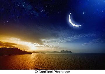 ramadan, grafické pozadí