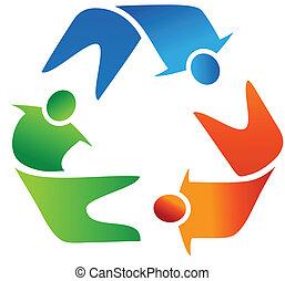 recyklace, kolektivní práce