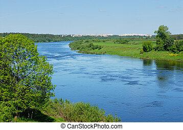 River Western dvin v belaru