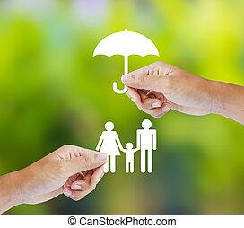 rodina, pojem, pojištění