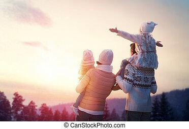 Rodinná a zimní sezona