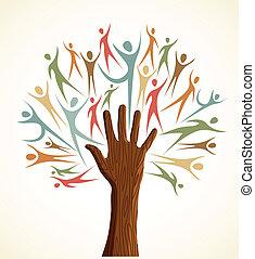 rozmanitost, dát, strom, lidská bytost hráč
