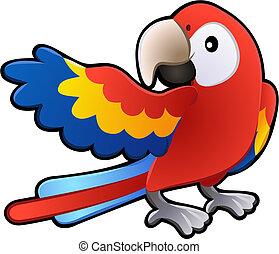 Roztomilá papouška