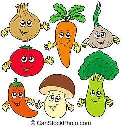 Roztomilá zeleninová kolekce