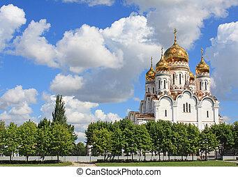 ruský ortodoxní přivést do kostela