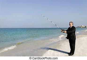rybaření, člověk obchodního ducha