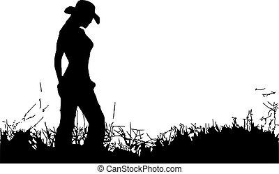 sám, cowgirl