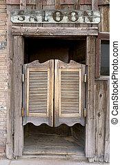 salón, západní, dveře