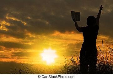 samičí, prosit, #2, bible
