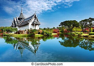 sanphet, palác, prasat, thajsko
