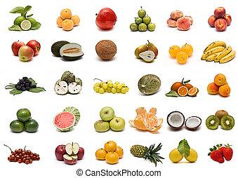 Sbírka ovoce.