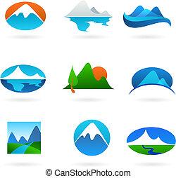Sběr horských ikonů