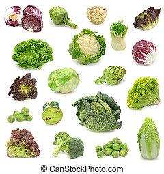 Sběr ze zelené zeleniny
