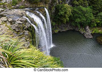 Scénářský pohled na vodopád