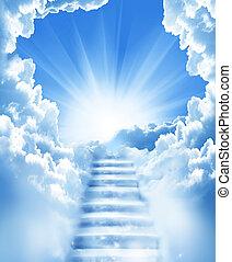 Schody na obloze