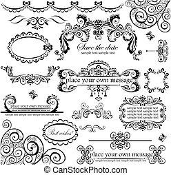 set., svatba, design.
