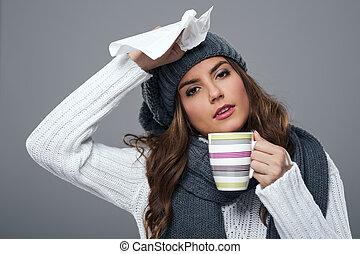 Sezóna na rýmu a chřipku