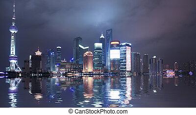 shanghai, čína