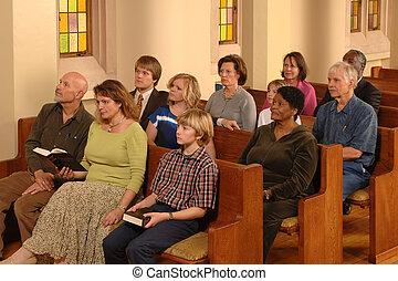 shromažďování, církev