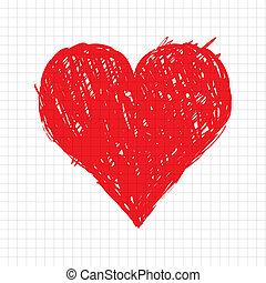 Sketch srdeční tvar pro tvůj design