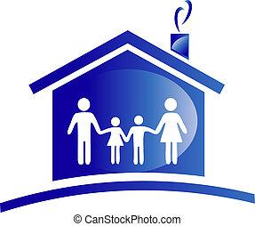skladné ikona, rodina, emblém