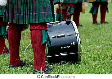 skotský, kulturní, kilt