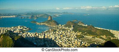 Sladký bochník v Rio de janeiro