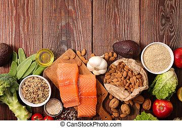 Složení zdravého jídla