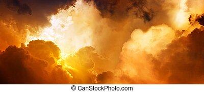 Slunce v nebi