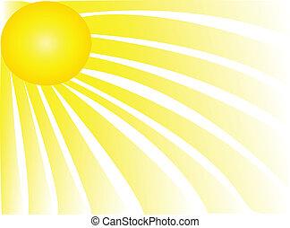 Sluneční paprsky