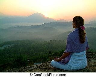 slunit se, meditatio, povstání