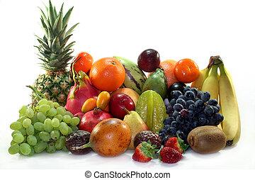 smíšenina, ovoce