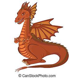 Smívání animácký drak